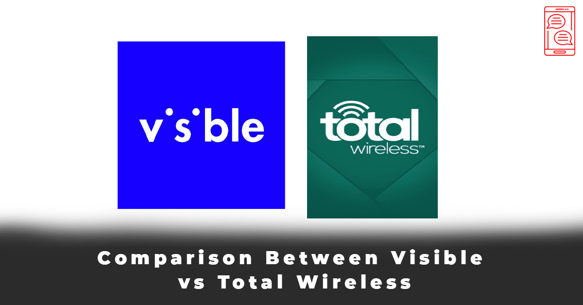 Comparison Between Visible vs Total Wireless
