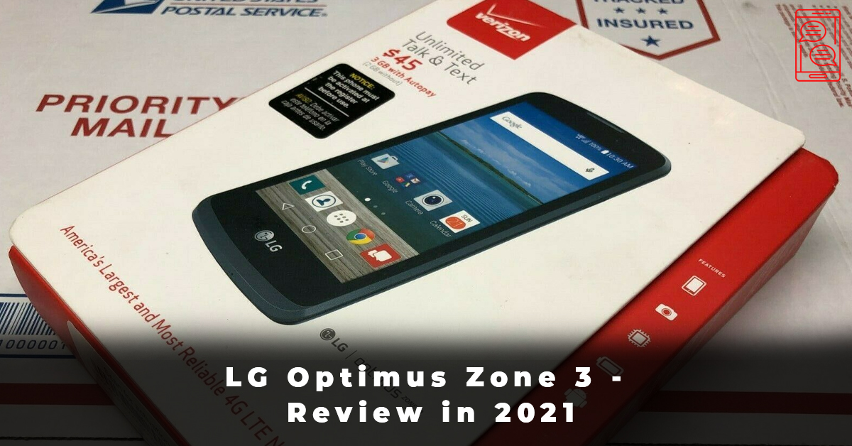 LG Optimus Zone 3 - Review in 2021
