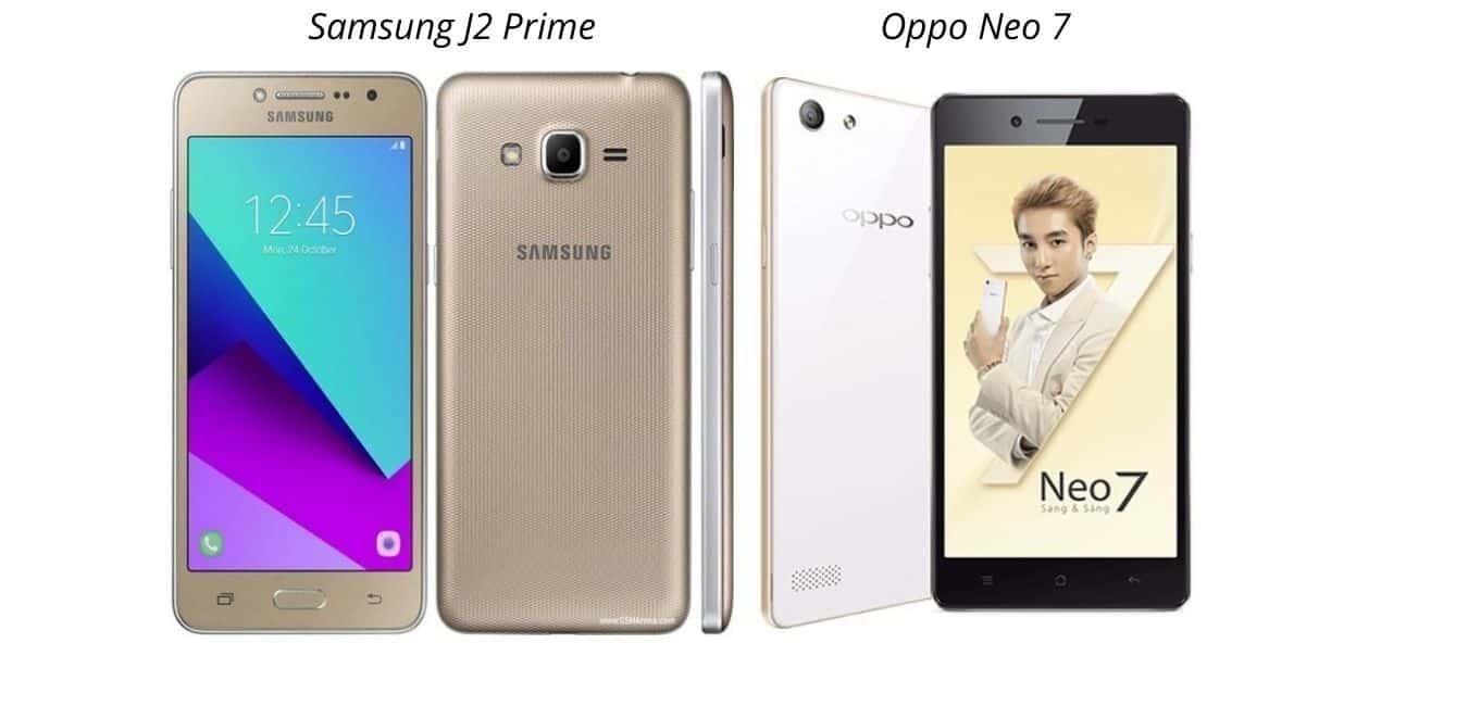 Samsung J2 Prime VS Oppo Neo 7