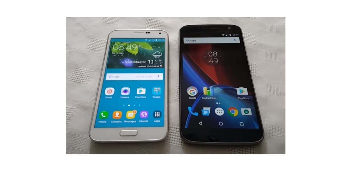 Moto G4 vs Samsung S5
